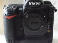 Available is my Us Nikon D3 DSLR. The camera was