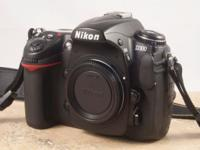 I am selling my Nikon D300 body along with several