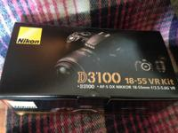 FS: Nikon D3100 DSL camera  Only a few months old  Pick