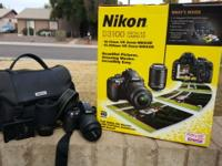 I have the Nikon D3100 camera and kit with two lenses