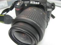 Nikon D3100 Excellent Condition Has strap, charger and