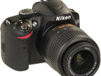 Like new Nikon D3200 Digital SLR Camera  Only used a