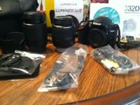 2 month old DSLR Nikon d3200 electronic camera. Has the