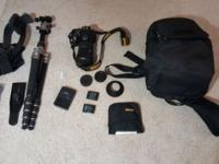 Nikon D3300 and tons of accessories - all in excellent