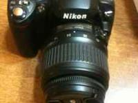For Sale is my Nikon D40 kit including a 18-55mm lens
