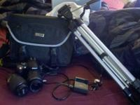 For sale is a Nikon D40 DSLR. Included is a Nikon