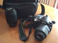I have a 2 yr old Nikon D40 for sale with the standard