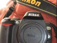 Nikon D40X camera base with 10.2 MP $275 FIRM Great