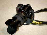 Nikon D40X with  battery gripper and charger 24-120mm
