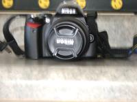 Up for sale is a Nikon D40x digital slr camera,In