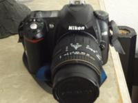 For sale is a Nikon D50 DSLR Camera with 28-90mm