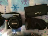 This is a Nikon D5000 camera that is 2 years old. It is