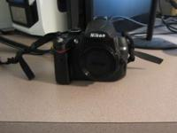 Nikon D5000 camera in excellent shape there is a mark