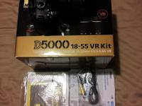 Nikon D5000 for sale with 18-55mm kit lens. Original