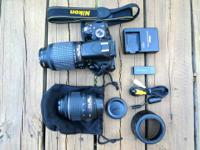 Nearly brand name brand-new Nikon D5100 cam bundle with
