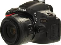 Nikon D5100 SLR Camera 18-55mm Lens. Manual/CDS and