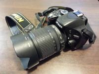 i'm selling my Nikon D5100 with Nikon 18-105mm