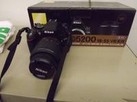 We have a new Camera for sale. It comes with the