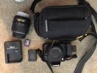 Great condition, great camera, rarely used. Come with a