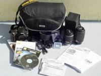 Used Nikon d60 in perfect shape, no dings, dents, or
