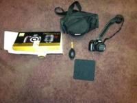 NIKON D 60 WITH 18-55 MM LENS CAMERA BAG ALL CAMERA