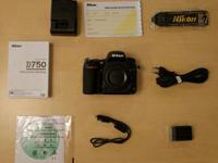 Nikon D750 DSLR Camera (Body Only) D750....2000$.