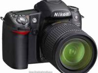 I'm selling my Nikon D80 digital SLR 10.2 megapixel. It