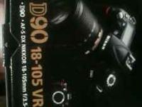 I have a wonderful Pro. Nikon D90 SLR Digital camera, i