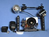 Complete Underwater Camera Ike Light Set that I want to
