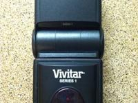 The Vivitar DF-383 flash is a fully automatic,