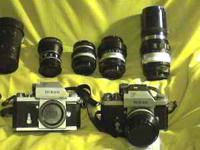 SELLING TWO NIKON F BODIES , BOTH HAVE PHOTOMIC