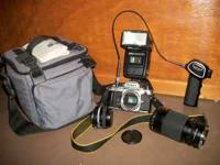 Camera and Asscessories for sale. $200 for all. Camera