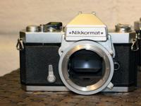 THE PRICE INCLUDES 3 ITEMS. TWO NIKKORMATT  CAMERAS