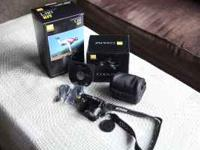 Nikon 12.1MP camera kit, case, cables, software,