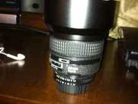 I am selling a Nikkor 85mm f/1.4D, Nikon USA. This lens
