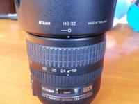 IF G ED lens, I am selling aNikon Zoom-Nikkor 18-70 mm