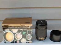 Nikon Zoom-Nikkor 70-300mm f/4-f/5.6 D ED Auto Focus