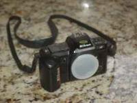 Nikon N4004 AF or Manual Focus Camera body Used but