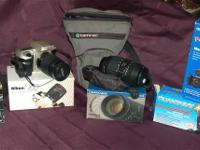 Package Includes:.  Nikon N60 Film Camera with strap.