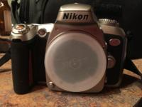 Nikon N75 35mm SLR Camera with 70-300mm 4-5.6