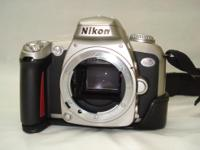 I am selling my Nikon N75 35mm film SLR camera (body