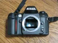 Nikon N80 35MM film body. New batteries. Appears to