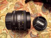 This is a nice 50mm f/1.8 AF lens. This lens is very