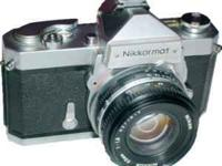 Nikon Nikkormat EL FT-2 35mm SLR Manual Focus Camera