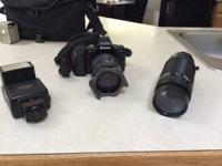 Nikon video camera, works great! Offering part