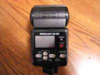 Nikon SB600 Flash unit. Appears to work fine. Call Gene