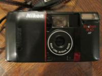 Nikon Tele -Touch 300 AF Point and Shoot Camera 35/55mm