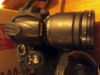 Nikon 3000 with 18mm-55mmLens and a 55-200 mm Lens: a