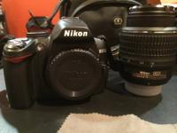 For sale is my Nikon D3000 electronic camera. I have