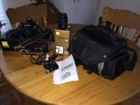 I have a very nice nikon camera with 2 lens a 18x55 and